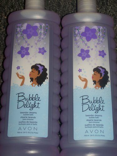 Lot of 2 Avon Bubble Delight Lavender Dreams Bubble Bath 24 fl oz each by Avon. $17.77. Scent: Lavender Dreams. Avon Bubble Delight Bubble Bath. LOT OF 2. Size: 24 fl oz. Lot of 2 Avon Lavender Dreams Bubble Bath- An amazingly scented bubble bath that is sure to help you relax after a long days work. Scented with lavender. Special formula won't leave a ring around the tub. Other scents available in my amazon store- stock up now