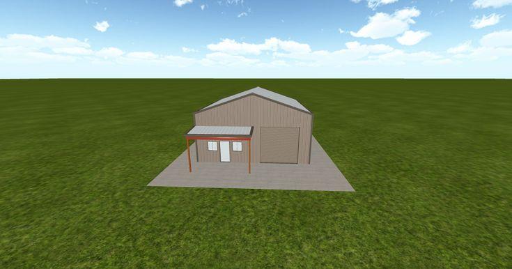 Cool 3D #marketing http://ift.tt/2A90ZE0 #barn #workshop #greenhouse #garage #roofing #DIY
