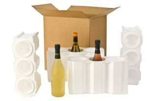 U-Haul: Moving supplies: Wine Shipping Kit Six Bottles