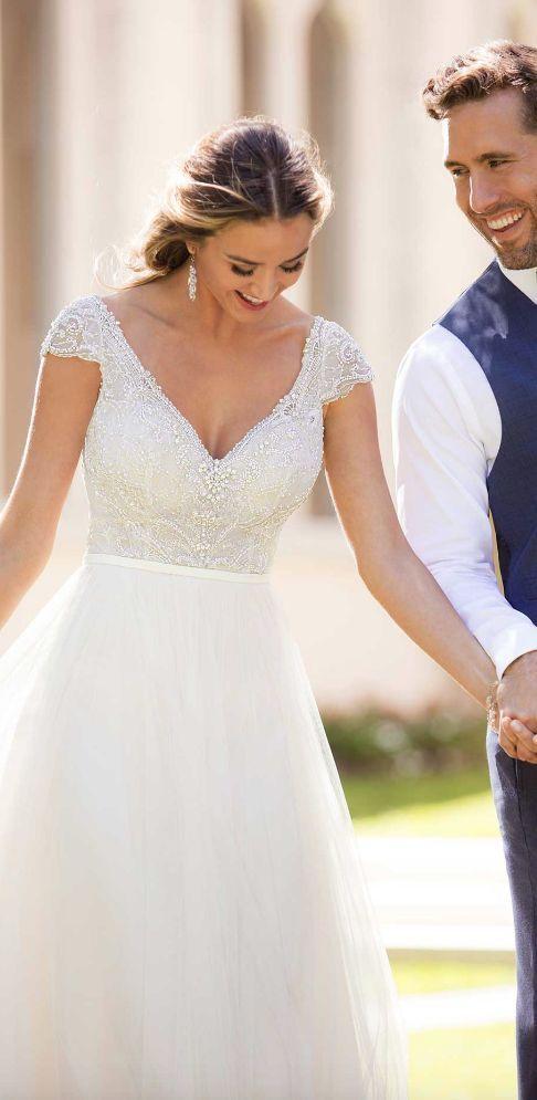 Timelessly Glamorous Spring 2018 Stella York Wedding Dresses – #australia #Dress… – Angelina – Kleidung ideen