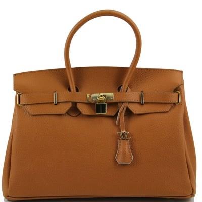 Sacs à main - TL Bag - Sac à main pour femme avec finitions couleur or TL141092