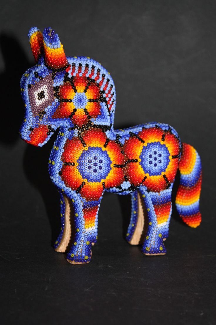 Huichol Pony - love the color palette!