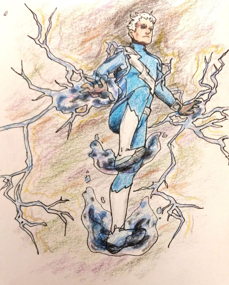 """teal-bandit: """"Also, do you guys remember the 90's run of Quicksilver comics where it was implied that he might have actually inherited Erik's powers in some capacity? """""""