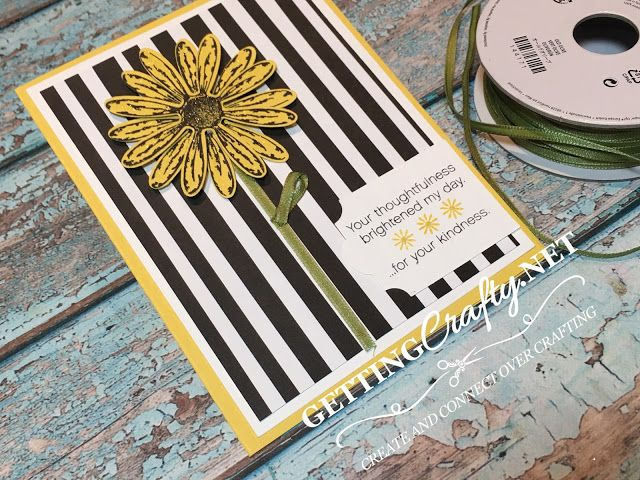 Getting Crafty with Jamie: Delightful Daisy handmade card