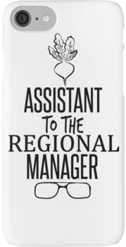 Dwight Schrute - Assistant to the Regional Manager iPhone 7 Cases