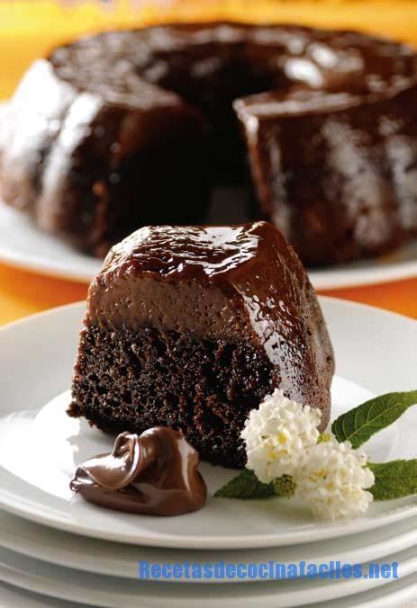 Exquisito flan de nutella, una receta facil y a la vez muy sorprendente con el que impresionaras a tus invitados en cualquier cena o almuerzo.