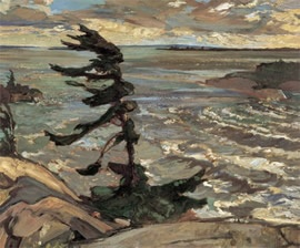 Stormy Weather, Georgian Bay. Fred Varley