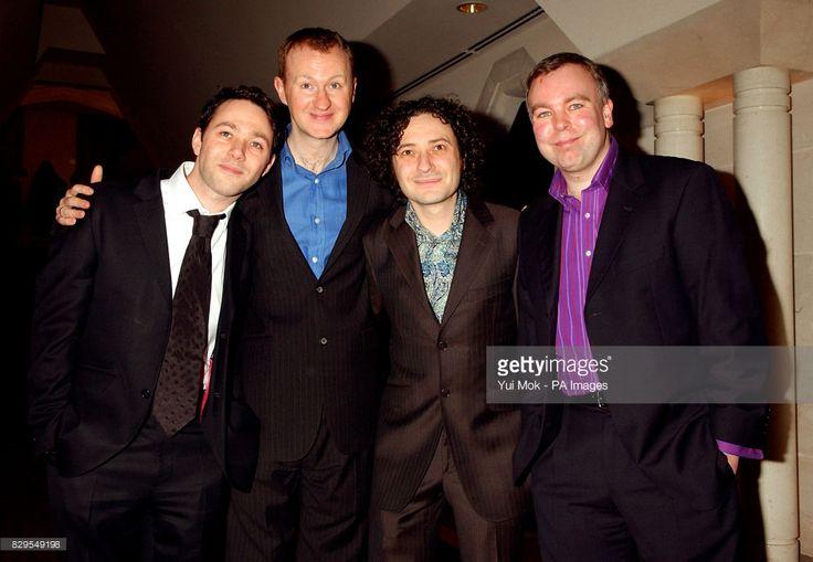 The League of Gentlemen (L-R) Reece Shearsmith, Mark Gatiss, Jeremy Dyson and Steve Pemberton.