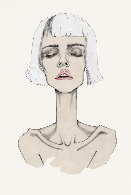 Fashion Illustration | Hair | Bob |