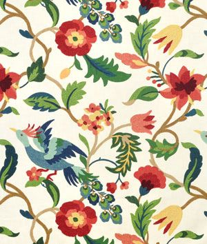 this fabric looks almost exactly like anthropologie's mantadia curtain! score.