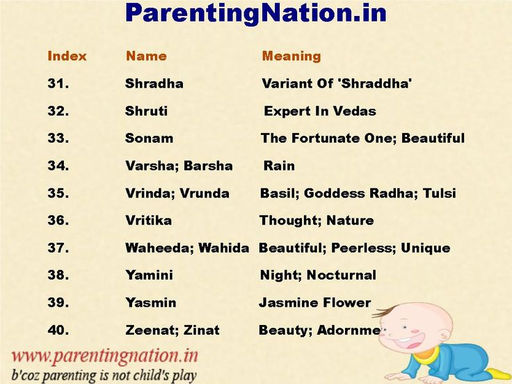 Indian baby girl names with accurate meaning pin best baby names