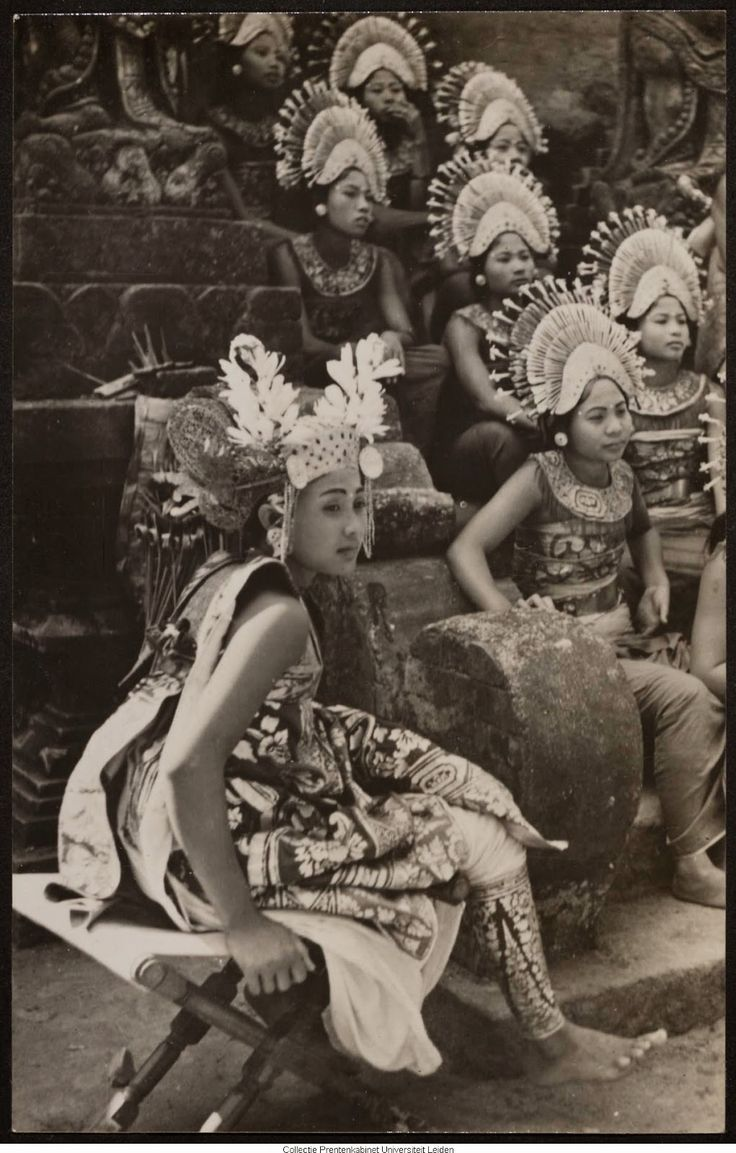 Bali Dancer at 1915
