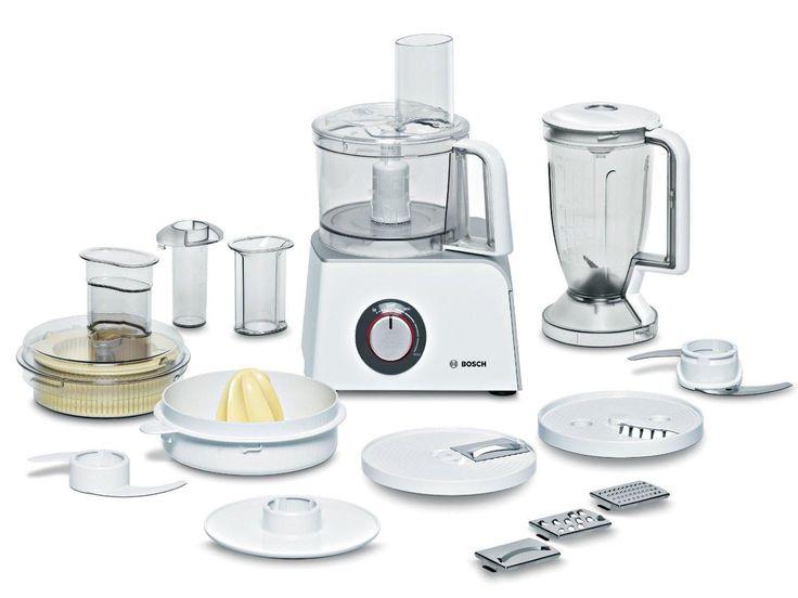 Bosch MCM4200 Robot da Cucina Multifunzione, Colore Bianco/Argento, 800 W: Amazon.it: Casa e cucina