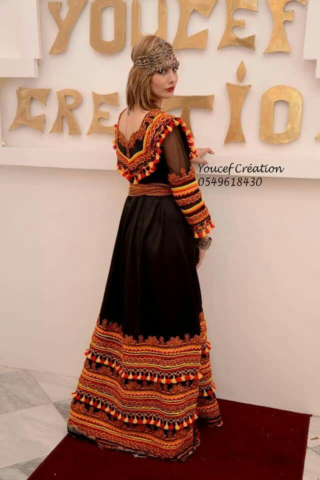 Pin By Mimi Nawara On Robe Kabyle Traditional Dresses Dresses Girls Activewear