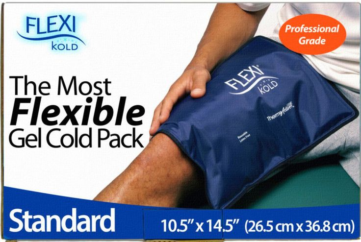 Ice Packs For Injuries Reduce Pain And Muscle  Swelling Relief Gel Cold Therapy  #FlexiKold