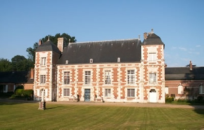 Chateau de Bonnemare, if you go to Normandy, do sleep in a real castle..