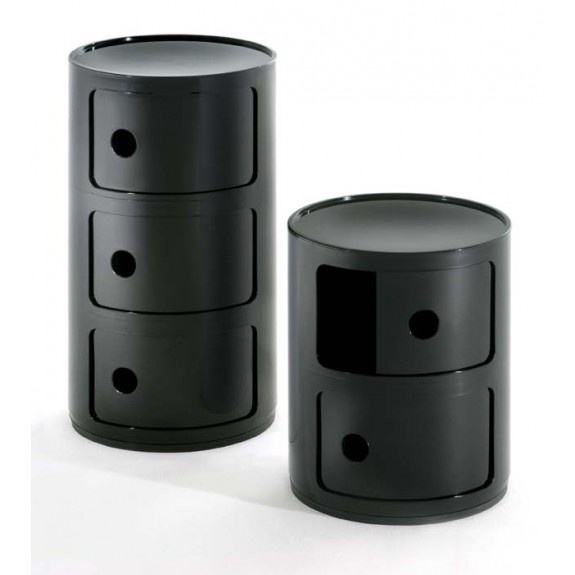 componibili containers anna castelli ferrieri for kartell next to the sofa or next to the. Black Bedroom Furniture Sets. Home Design Ideas