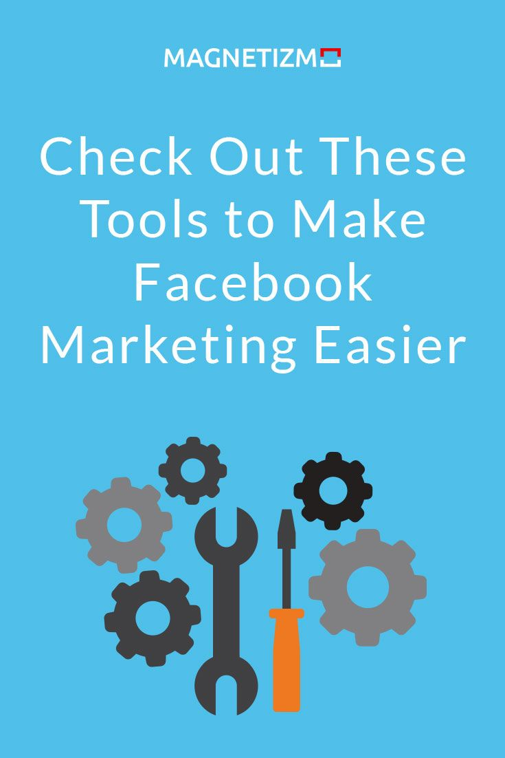 The right Facebook tools can make the job easier by saving you time and optimizing your Facebook marketing efforts. We've set out to put together a solid list of tools that we think other companies can use to scale their online marketing growth and make l
