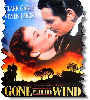 "Favorite Quote: ""Frankly, my dear, I don't give a damn."" #Romance #Movies"