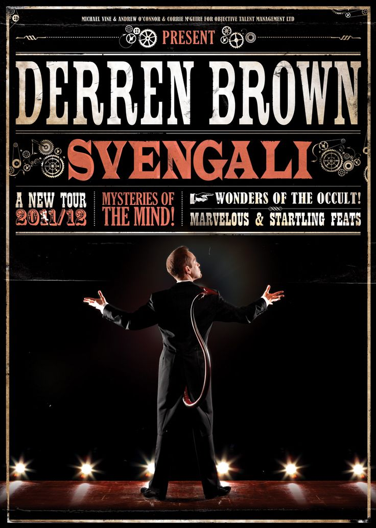 Derren Brown. Fantastic live too.