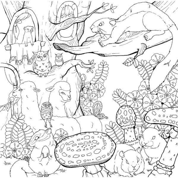 美しい絵本スタイルの塗り絵 ロマンチック・ジャーニー (大人の塗り絵シリーズ)