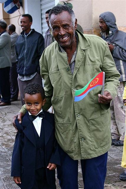 Nice family from Eritrea.