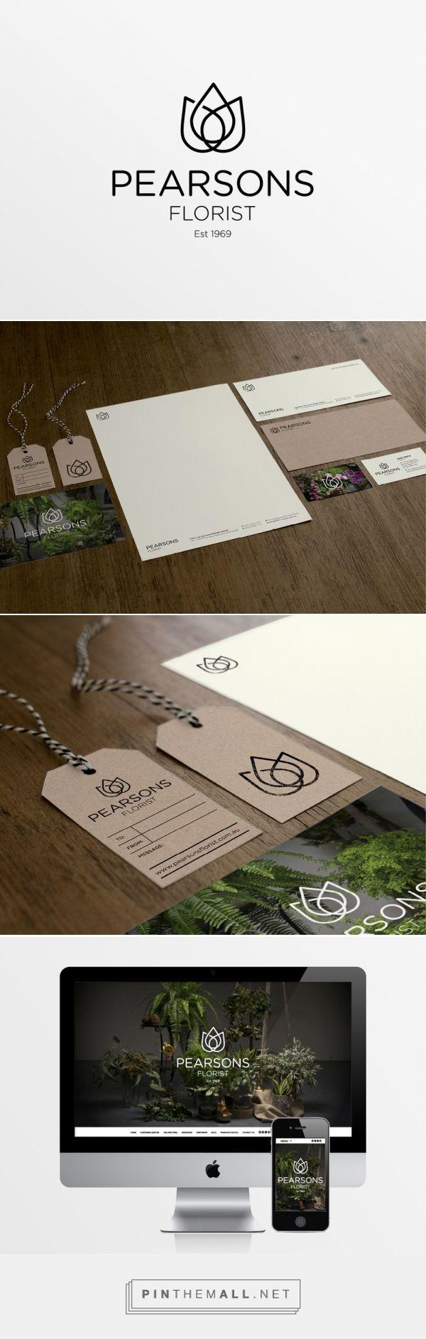 Pearsons Florist by Katherine Johnson   Fivestar Branding – Design and Branding Agency & Inspiration Gallery
