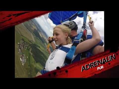 Fallschirmspringen Tandemsprung Trailer von Edi Engl Amberg Oberpfalz