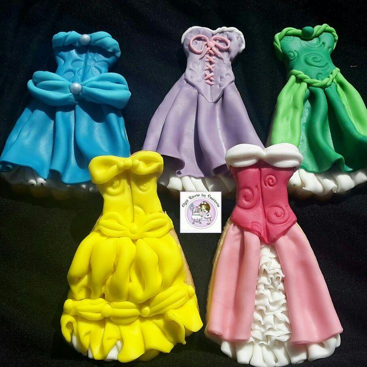 Disney princesses cookies