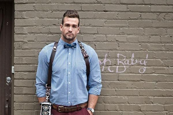 Afternoon Eye Candy Guy In Suspenders : theBERRY