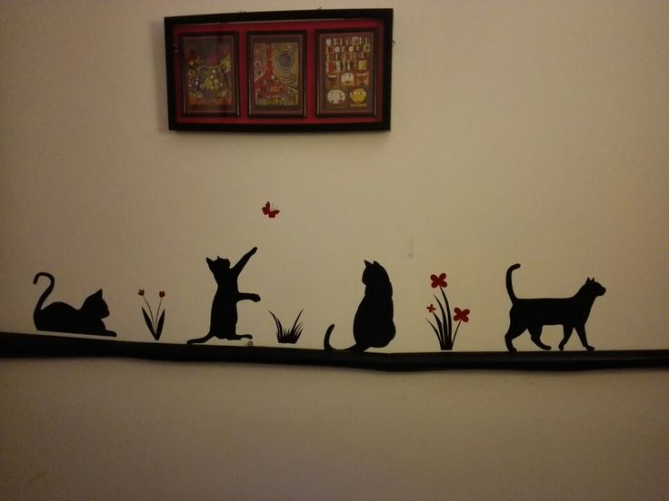 Cats wall sticker