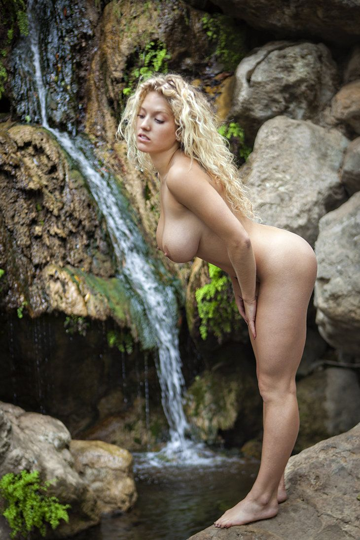 naked female in wilderness video