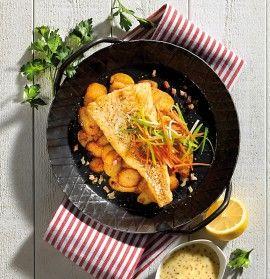 GOSCH Sylt | Pannfisch mit Senfsauce