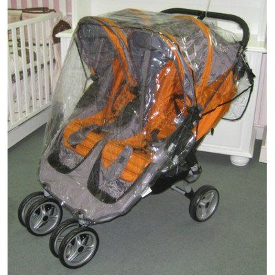 Sashas Rain And Wind Cover For Baby Jogger City Mini