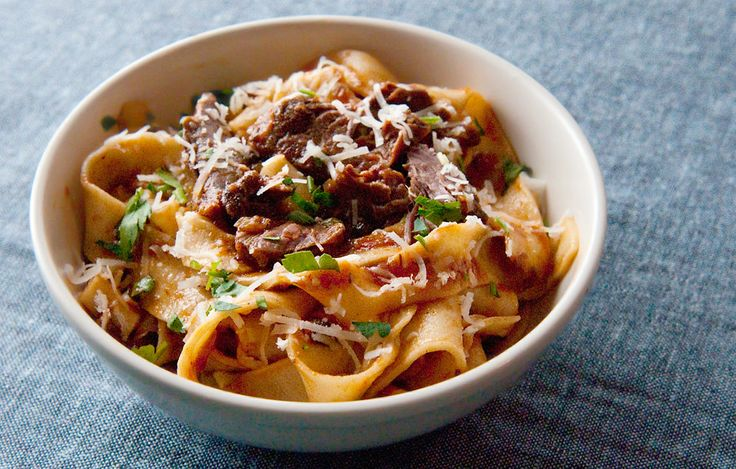 A recipe for jackrabbit or hare ragu, a classic Tuscan pasta sauce served with homemade pappardelle pasta.