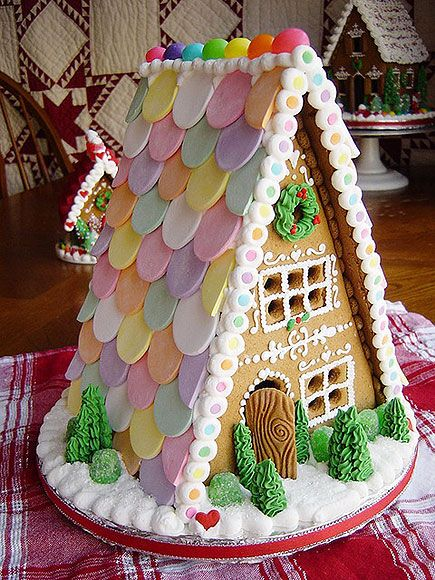 Amazing Gingerbread Houses; Holiday Baking Ideas : People.com