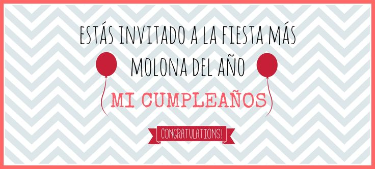 Invitación fiesta de cumpleaños imprimible y descargable gratis www.manualidadesytendencias.com #freebies #cumpleaños #gratis #invitación