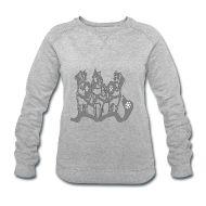 Frauen Sweatshirt Weihnachtspullover