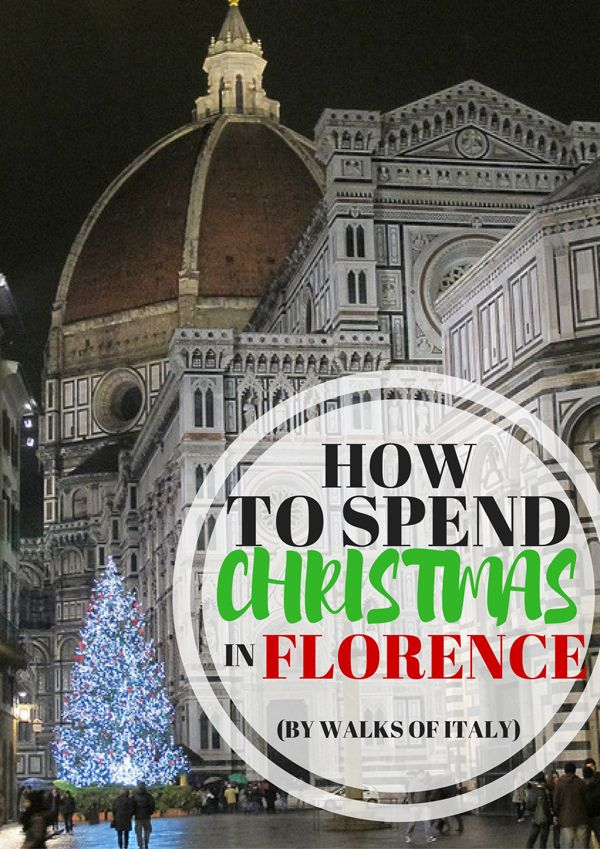 The Cathedral of Santa Maria del Fiore is beautiful with it's Christmas decorations. Find out what else to see and do in Florence at Christmas on the Walks of Italy blog.