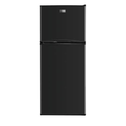Frigidaire FFTR1222Q 24 Inch Wide 12 Cu. Ft. Top Freezer Apartment Sized Refrigerator with SpaceWise Adjustable Glass Shelves (