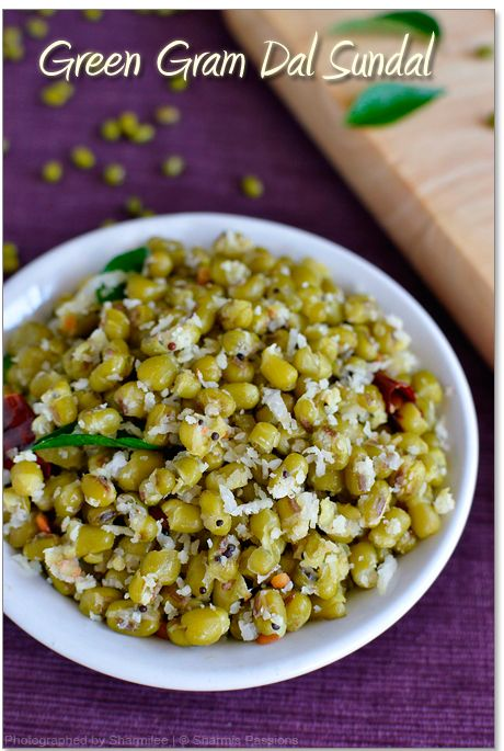 Green Gram Sundal Recipe