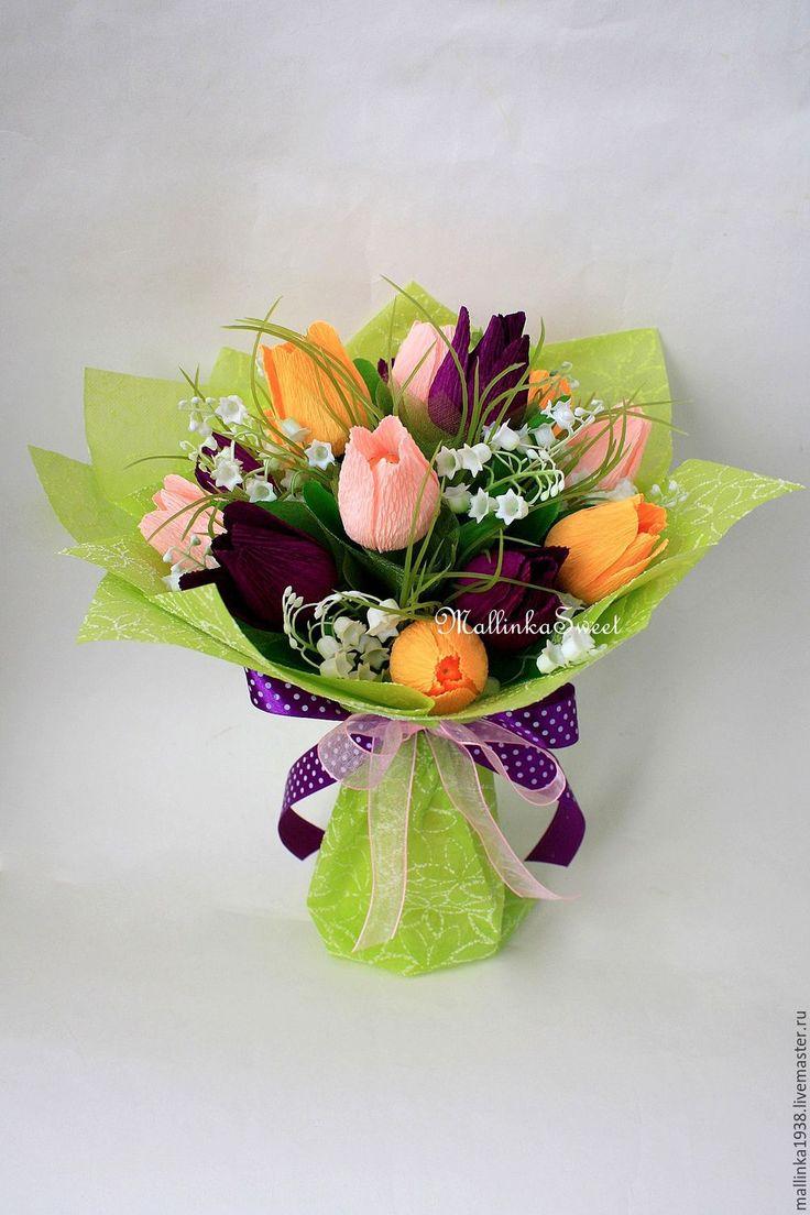 Цветы из бумаги своими руками тюльпан фото 452