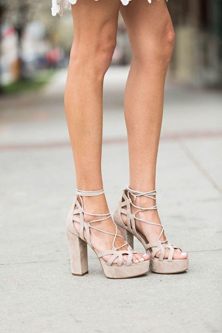 Platform Sandals   Neutrals