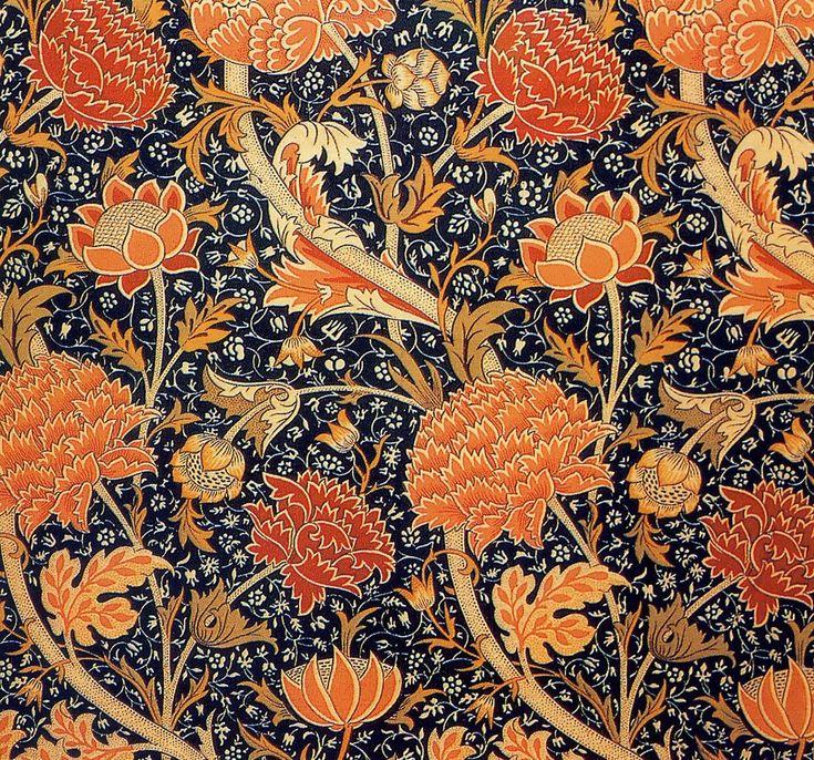 William Morris - PreRaphaelite Designer - Wallpaper