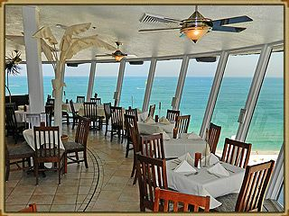 Spinners Restaurant Sunset Dinner.  St Pete beach, Florida.  Grand Plaza resort.  www.grandplazaflorida.com