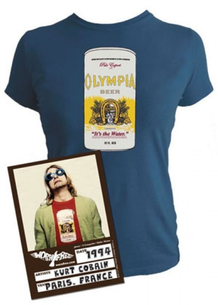 kurt cobain olympia t shirt women via tshirt designs pinterest