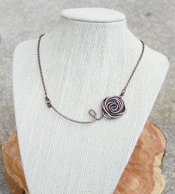 rose copper wire