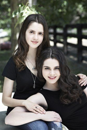 Vanessa Marano and Laura Marano!! Oh my gosh I dint even think they where related!!:)
