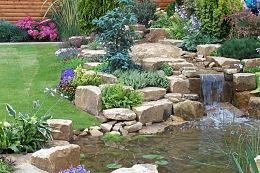 Create a stunning water feature today | Decorative Aggregates