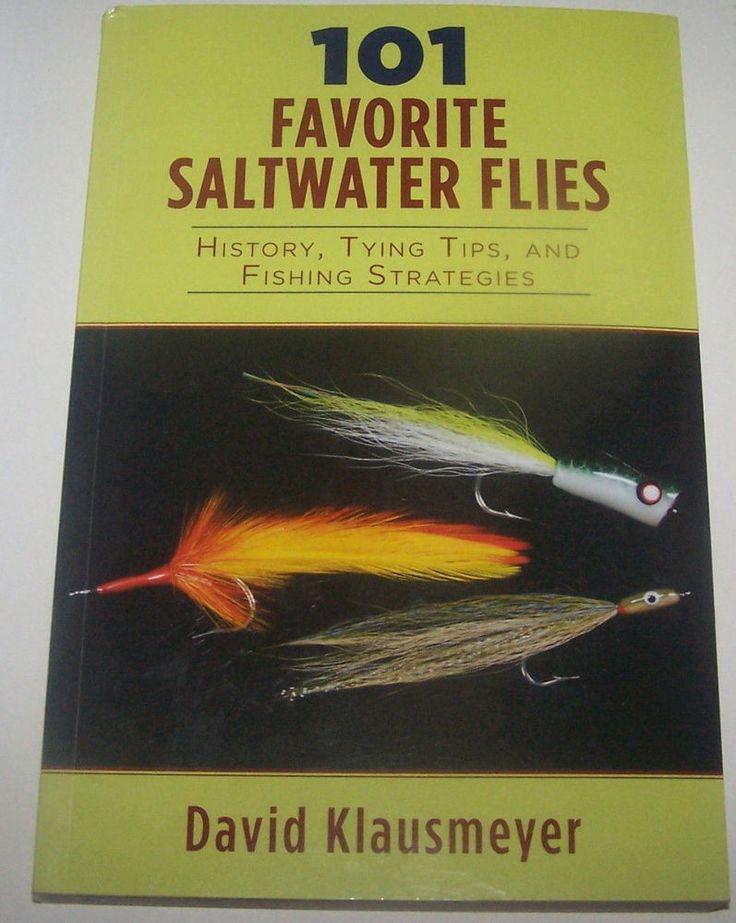 101 FAVORITE SALTWATER FLIES Tying Tips Fishing Strategies Flyfish Fly Book